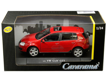 Cararama 12503 VW Volkswagen Golf GTi 1:24 Red