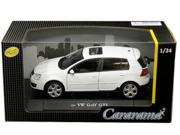 Cararama 12518 VW Volkswagen Golf GTi 1:24 White