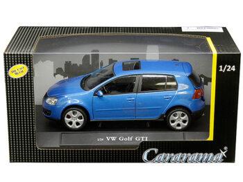 Cararama 12519 VW Volkswagen Golf GTi 1:24 Blue