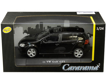 Cararama 12577 VW Volkswagen Golf GTi 1:24 Black