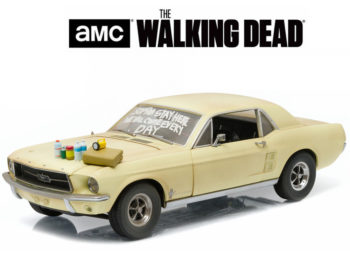 Greenlight 12958 The Walking Dead 1967 Ford Mustang Coupe 1:18