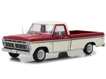 Greenlight 12962 1973 Ford F-100 Pick Up Truck 1:18 Red White