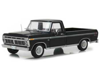 Greenlight 12963 1973 Ford F-100 Pick Up Truck 1:18 Black