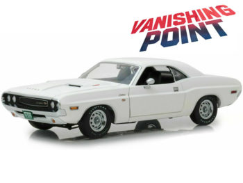 Greenlight 13526 Vanishing Point 1970 Dodge Challenger R/T 1:18 White