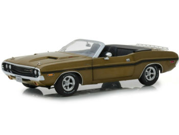 Greenlight 13527 1970 Dodge Challenger R/T Convertible 1:18 Gold