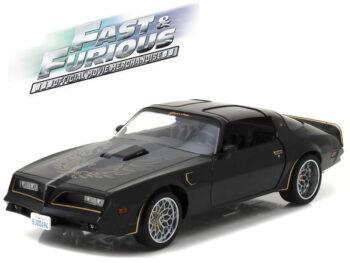 Greenlight 19026 Fast & Furious Tego's 1978 Pontiac Firdbird Trans Am 1:18 Black