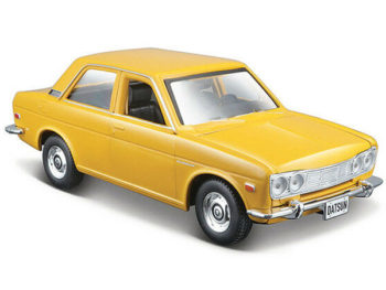 Maisto 31518 Special Edition 1971 Datsun 510 1:24 Yellow