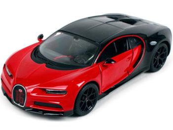 Maisto 31524 Special Edition Bugatti Chiron Sport 1:24 Red / Black