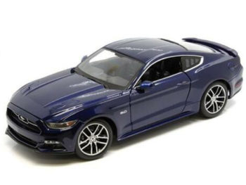 Maisto 38133 Exclusive Edition 2015 Ford Mustang GT 1:18 Blue