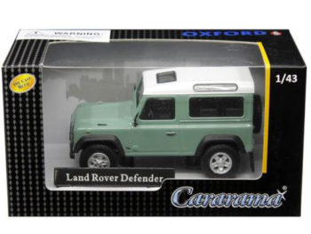 Cararama 4-55240 Land Rover Defender 1:43 White / Pastel Green