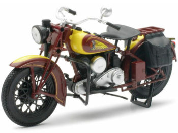 New Ray 42113 1934 Indian Sport Scout Classic 1:12 Brown