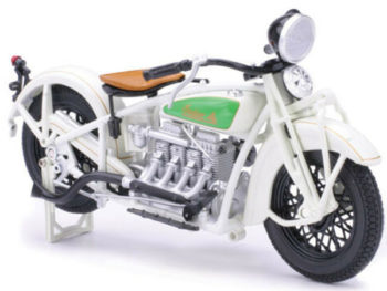 New Ray 42163 1930 Indian Chief 1:12 White