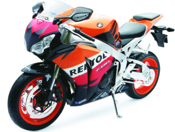 New Ray 49073 Repsol 2009 Honda CBR 1000 RR 1:6 Orange