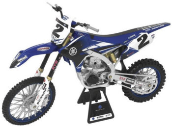 New Ray 49513 Yamaha YZ 450F 1:6 #2 Copper Webb Blue