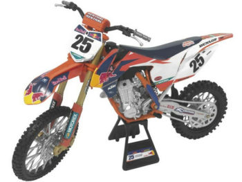 New Ray 49633 Red Bull Racing Ktm 450 SX-F 1:6 #25 Marvin Musquin