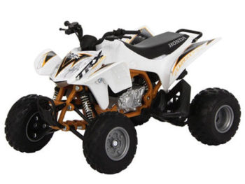 New Ray 57473 S 2012 Honda TRX 450R ATV 1:12 White