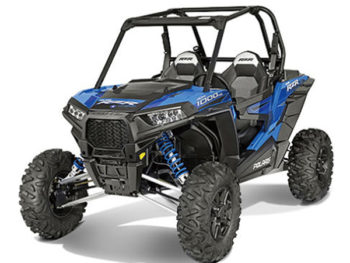 New Ray 57593 B Polaris RZR XP 1000 Dune Buggy 4 Wheels 1:18 Blue