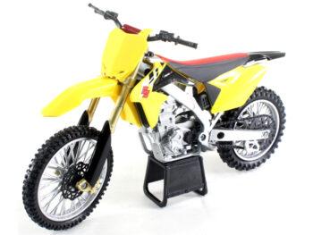 New Ray 57643 2014 Suzuki RM Z450 1:12 Yellow