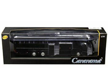 Cararama 57702 B Scania Irizar Bus PB 1:50 All Black