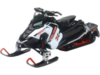 New Ray 57783 A Polaris 800 Switchback Pro-X Snowmobile 1:16 White