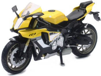 New Ray 57803 B 2015 Yamaha YZF R1 1:12 Yellow