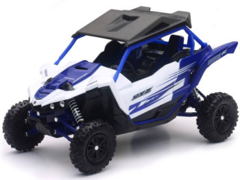 New Ray 57813 A Yamaha YXZ 1000R Triple Cylinder 1:18 Blue White