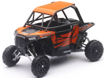 New Ray 57823 Polaris RZR XP 1000 Dune Buggy 4 Wheels 1:18 Orange