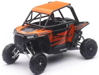 New Ray 57823 Polaris RZR XP 1000 Dune Buggy 4 Wheels 1:18 Orange