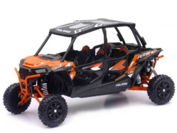 New Ray 57843 A Polaris RZR XP 4 Turbo EPS 1:18 Orange