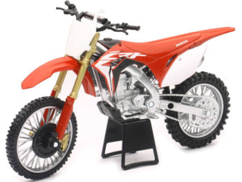 New Ray 57873 2017 Honda CRF 450R 1:12 Red