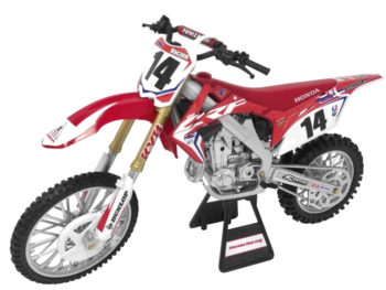 New Ray 57933 Team Honda HRC CRF 450R 1:12 #14 Cole Seely