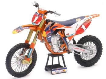 New Ray 57953 Red Bull Racing Ktm 450 SX-F 1:10 #1 Ryan Dungey