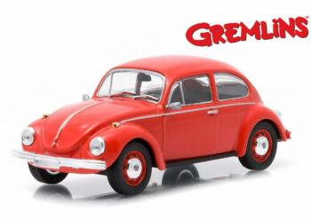 Greenlight 86072 Gremlins 1967 VW Volkswagen Beetle 1:43 Red