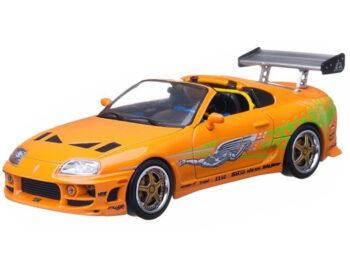 Greenlight 86202 2001 Fast & Furious 1995 Toyota Supra MK 4 1:43 Orange