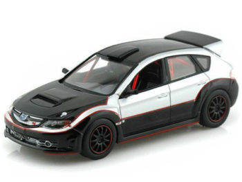 Greenlight 86220 Fast & Furious Brian's 2009 Subaru Impreza WRX Sti 1:43 Silver