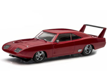 Greenlight 86221 Fast & Furious 6 Dom's 1969 Dodge Charger Daytona 1:43 Maroon