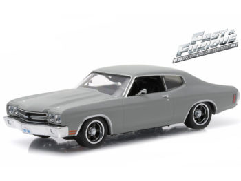 Greenlight 86227 Fast & Furious Dom's 1970 Chevy Chevelle ss 1:43 Grey