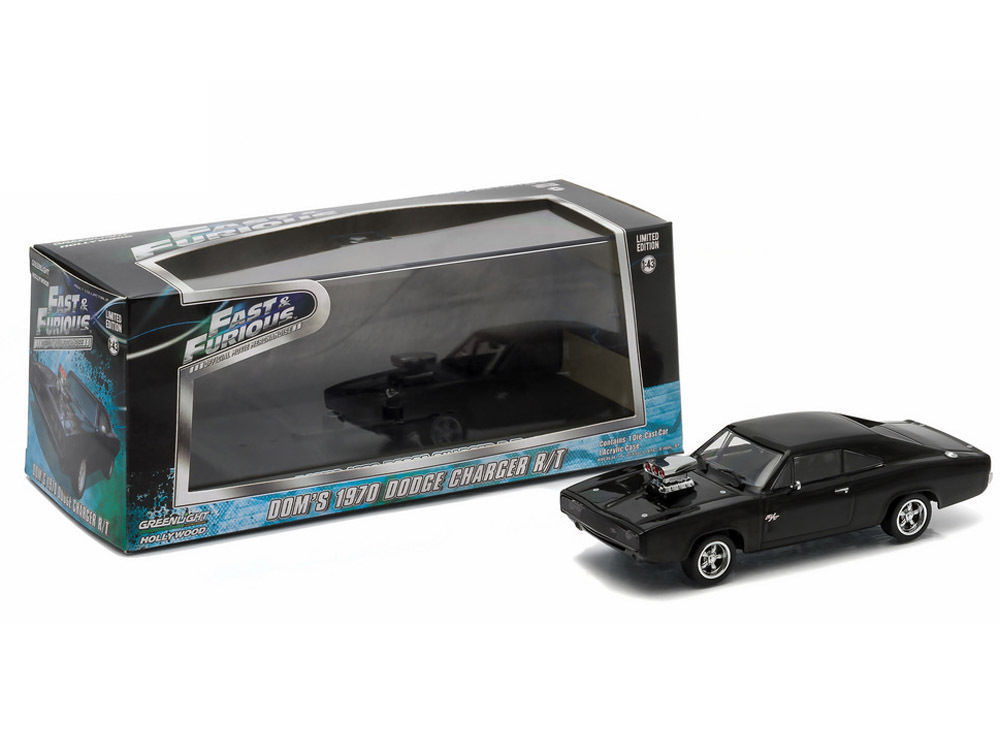 Dom/'s 1970 Dodge Charger R//T Fast 5 Diecast GREENLIGHT 1:43 Fast and Furious