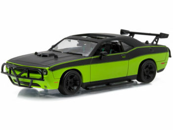 Greenlight 86230 Fast & Furious 7 Letty's 2014 Dodge Challenger SRT8 1:43 Green