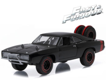 Greenlight 86232 Fast & Furious 7 Dom's 1970 Dodge Charger R/T Off Road 1:43 Black