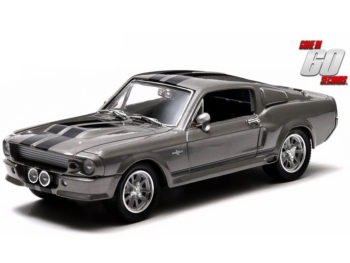 Greenlight 86411 Gone in 60 Sixty Seconds 1967 Shelby GT 500 Eleanor 1:43 Grey