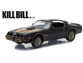 Greenlight 86452 Kill Bill Vol 2 1979 Pontiac Firebird Trans Am 1:43 Black