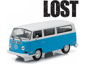 Greenlight 86471 Lost TV 1971 VW Voldswagen Type 2 T2B Dharma Van 1:43 Blue White