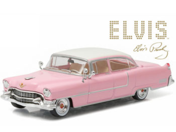 Greenlight 86491 Elvis Presley 1955 Cadillac Fleetwood Series 60 1:43 Pink