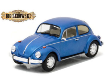 Greenlight 86496 The Big Lebowski Movie VW Volkswagen Beetle 1:43 Blue
