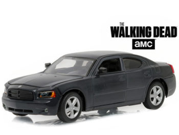 Greenlight 86505 The Walking Dead Daryl Dixon's 2006 Dodge Charger Police 1:43 Black