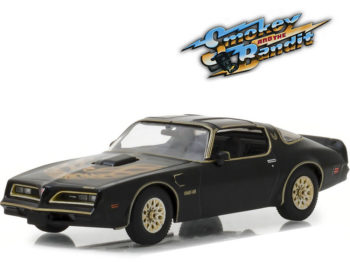Greenlight 86513 Smokey and the Bandit 1977 Pontiac Firebird Trans AM 1:43 Black