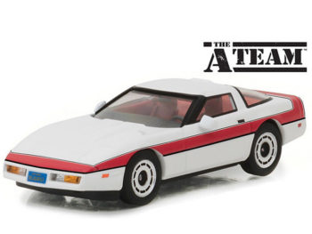 Greenlight 86517 The A Team 1984 Chevrolet Corvette C4 1:43 White