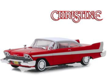 Greenlight 86529 Christine 1958 Plymouth Fury 1:43 Red