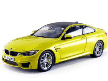 Paragon 97103 Bmw M4 Coupe 1:18 Austin Yellow with Carbon Top